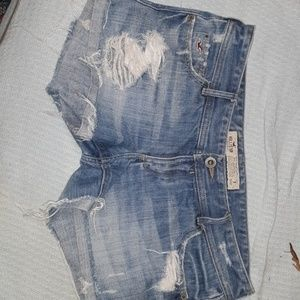 Denim shorts hollister